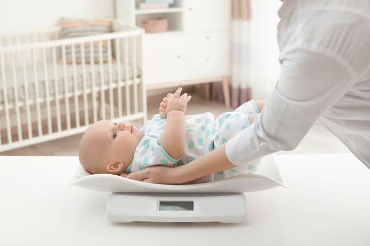 Digitální kojenecká váha