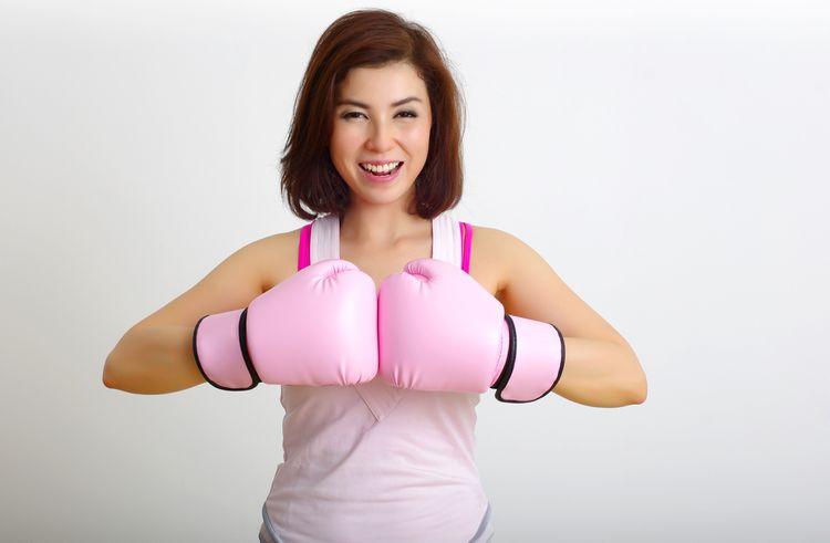 Dámské boxerské rukavice pro začátečníky