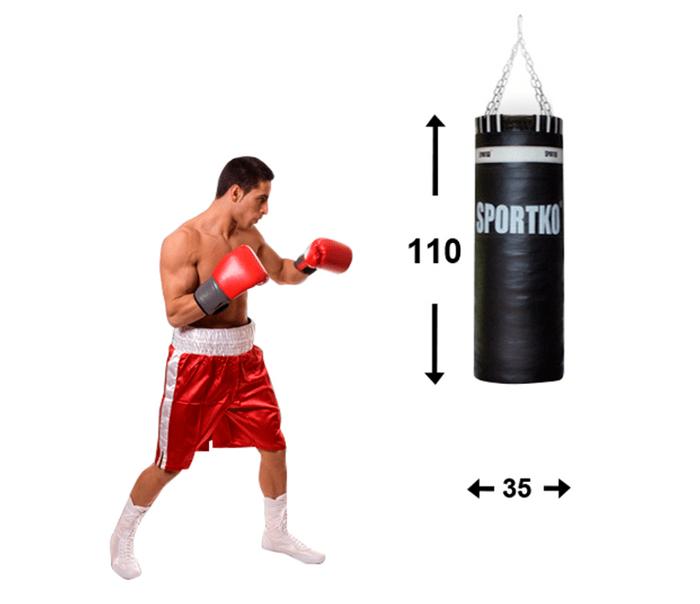 SportKO Leather 35 x 110 cm rozměry