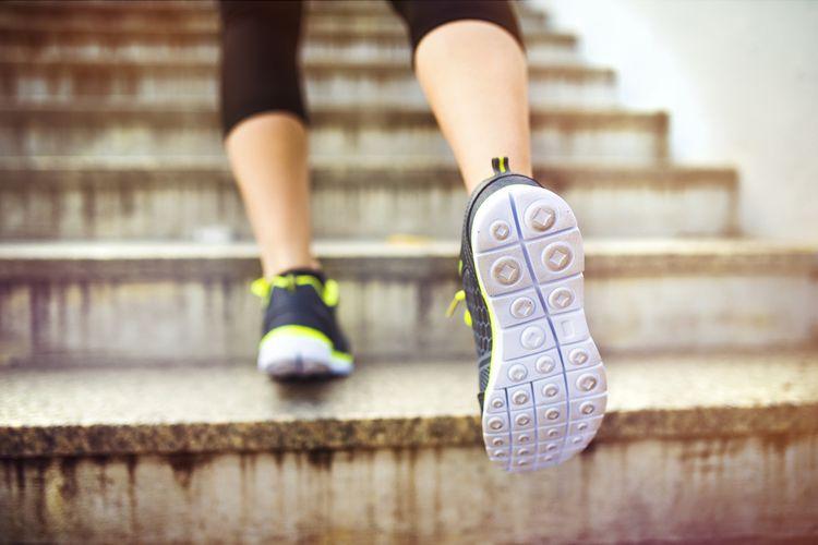 Zdraví prospěšné běhání po schodech