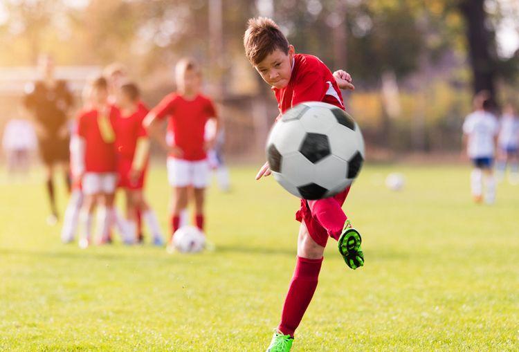 Černobílý dětský fotbalový míč