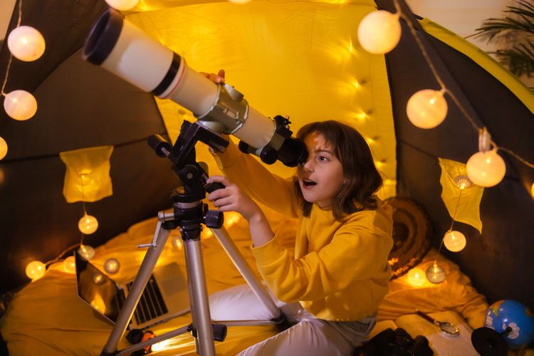 Jak používat teleskop/hvězdářský dalekohled