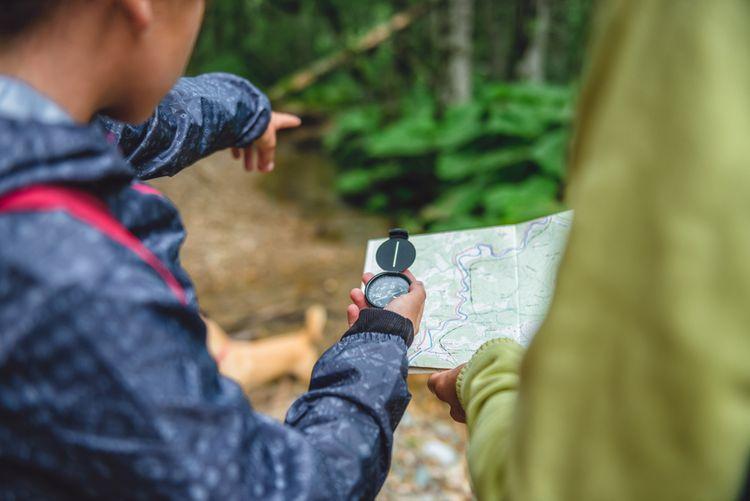 Jak používat kompas/buzolu?