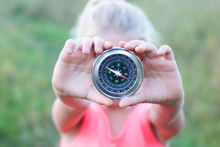 Kulatý klasický kompas