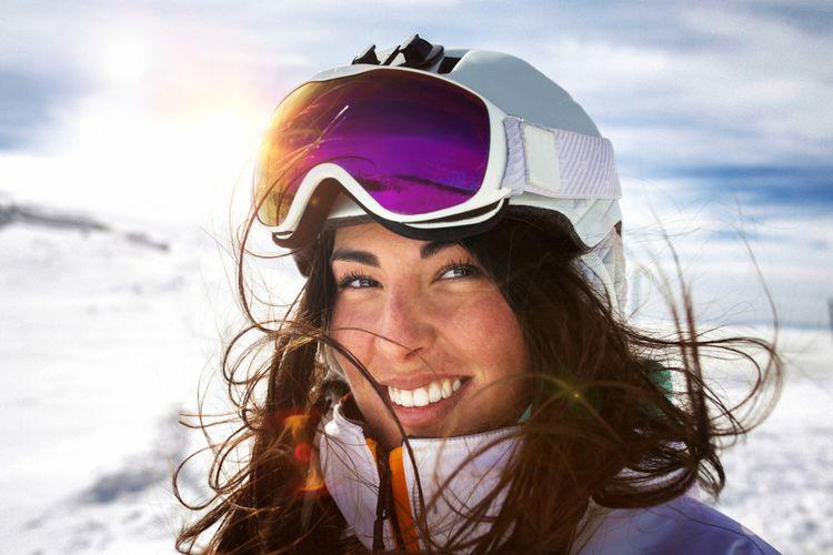 Vhodné brýle na lyžařský svah