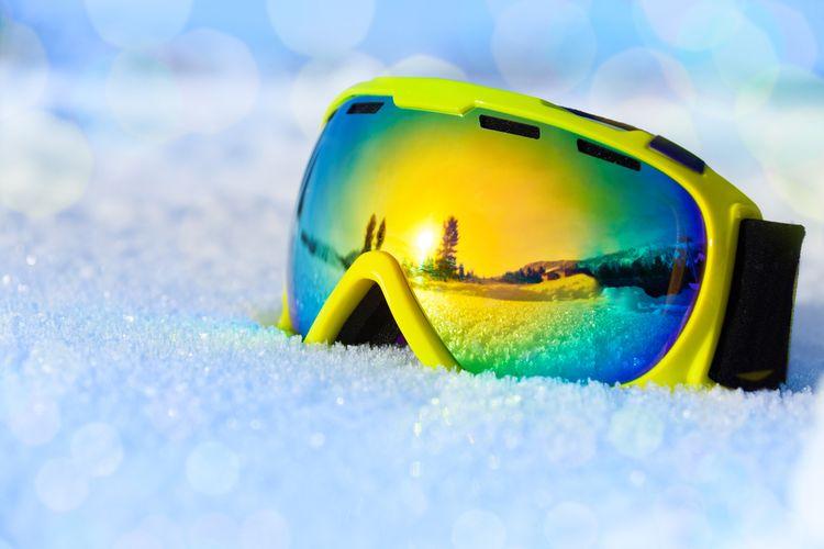 Průzory lyžařských brýlí