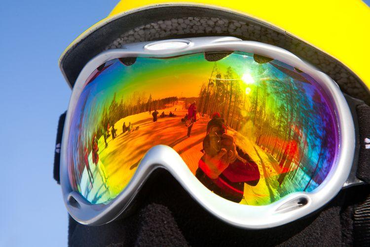 Lyžařské brýle s antireflexní vrstvou
