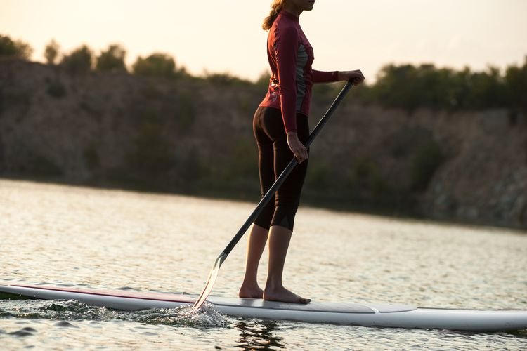 Vhodné oblečení na paddleboard