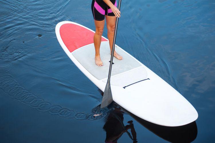 Paddleboard s veslem