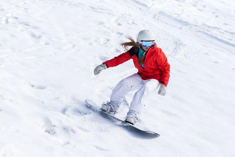 Jízda na snowboardu