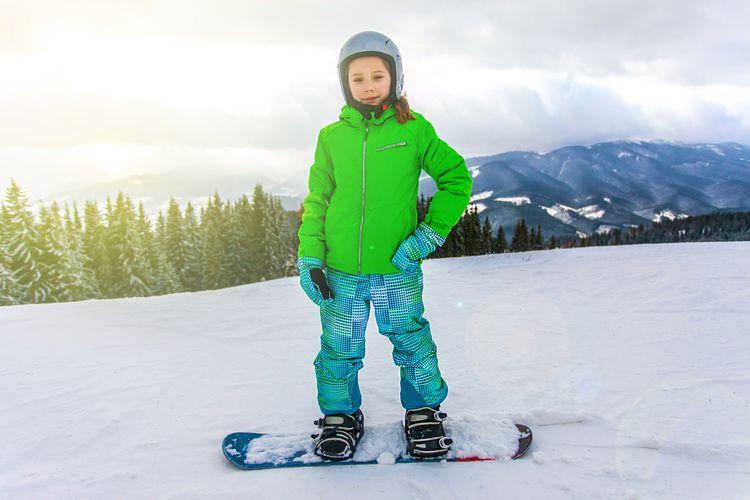 Snowboard pro děti