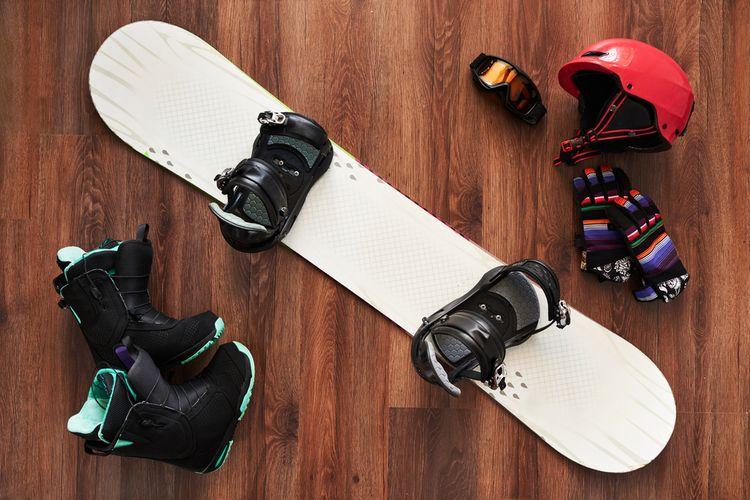 Snowboardová výbava
