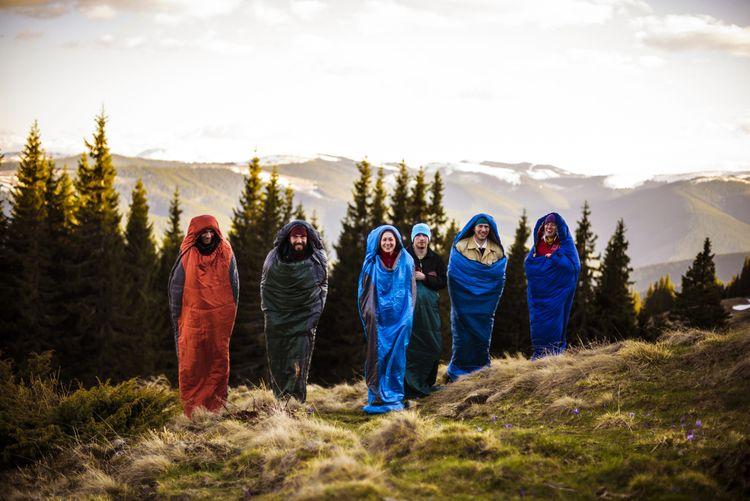 Mumiové zimní spacáky