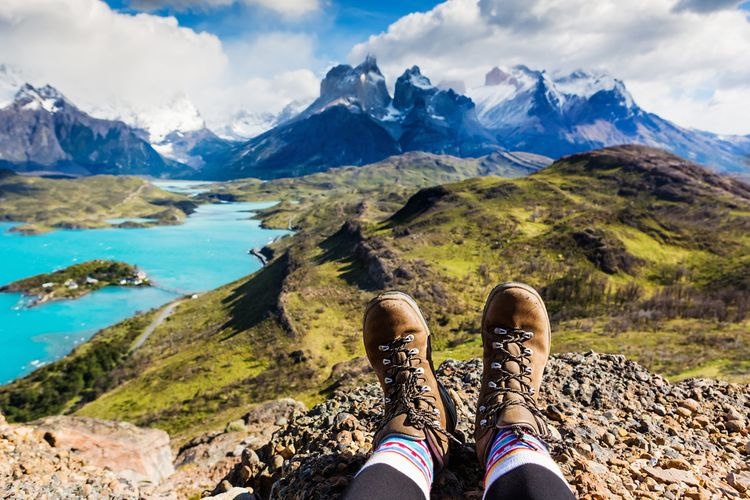 Outdoorové turistické boty