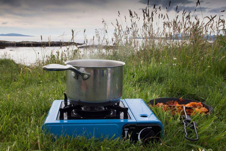 Plynový kempingový vařič