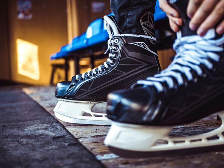 Pánské zimní hokejové brusle