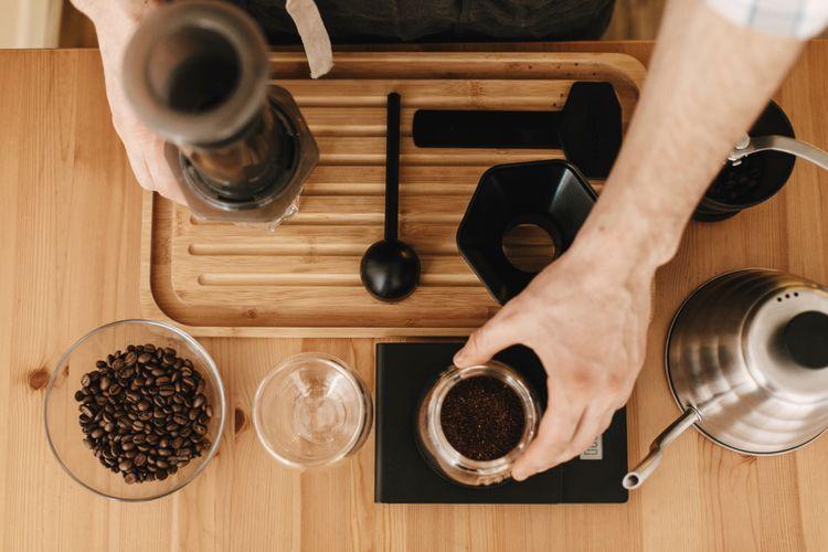 Standardní metoda přípravy kávy