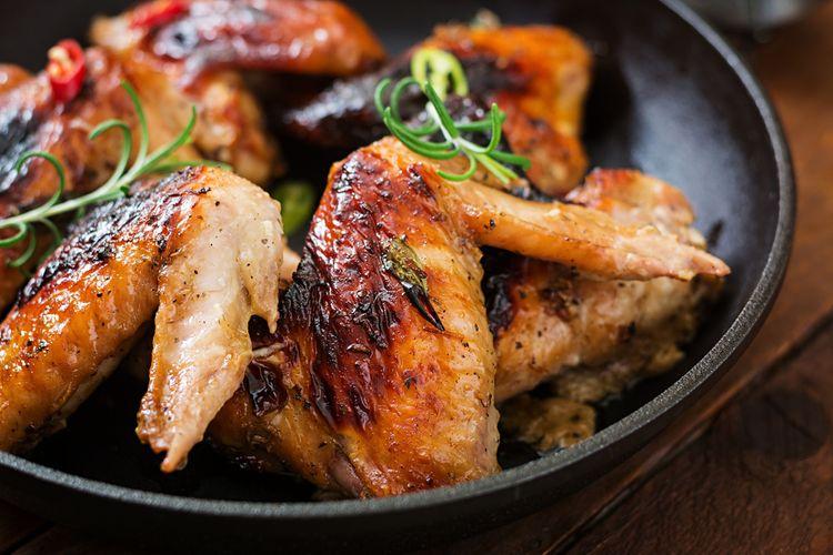 Marinované kuřecí křidélka