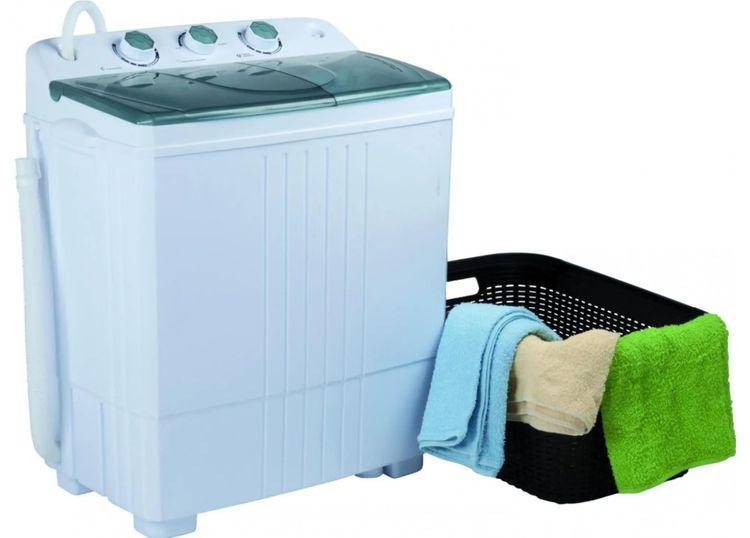V případě mini praček je účinnost praní nižší
