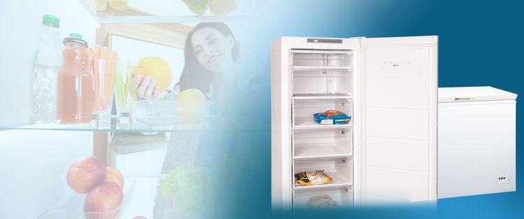 Chladničky a mrazničky značky Orava