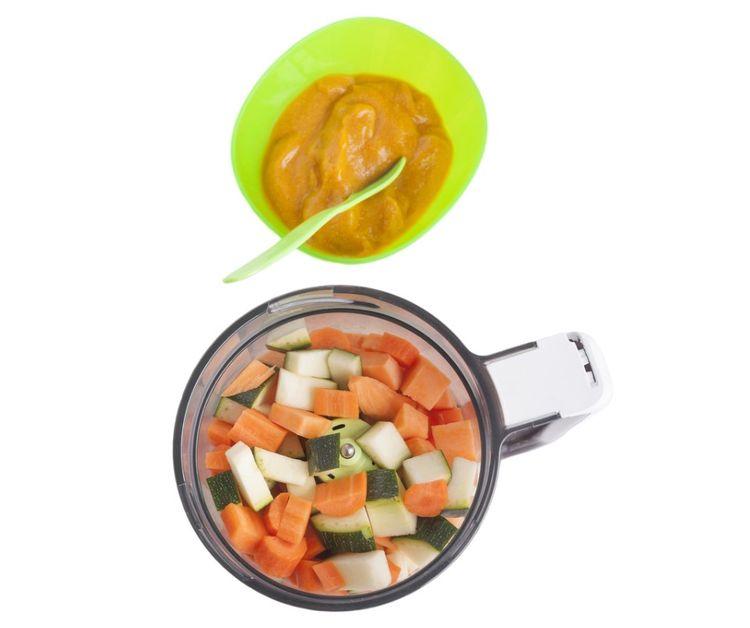 Příprava jídla v parním mixéru