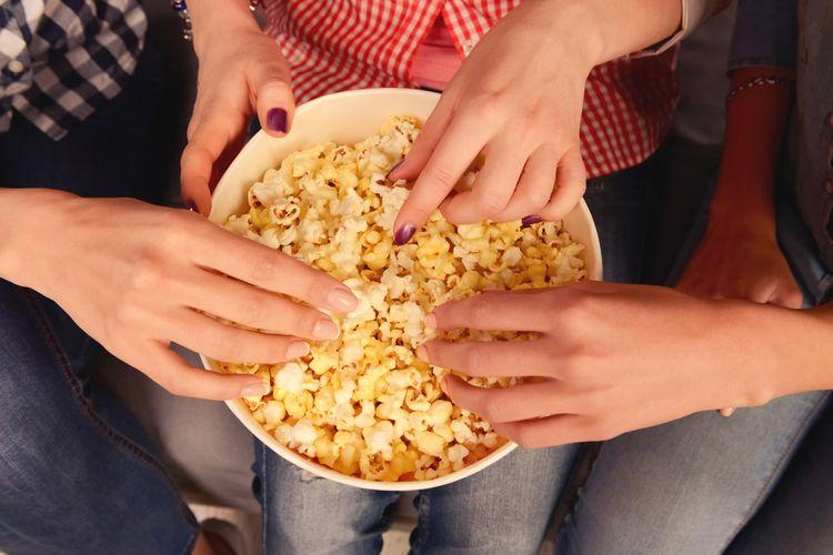 Popcorn je zdravější než bramborové lupínky či křupky