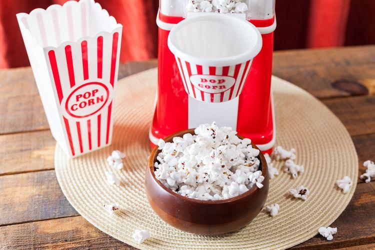 Horkovzdušný popcornovač