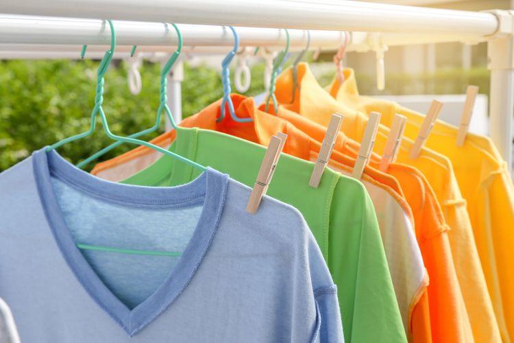 Sušení prádla na slunci