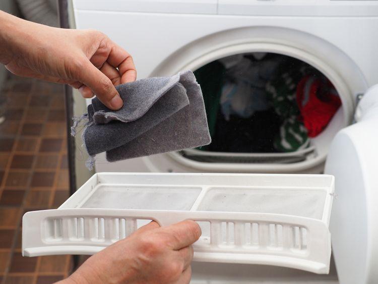 Filtr sušičky prádla