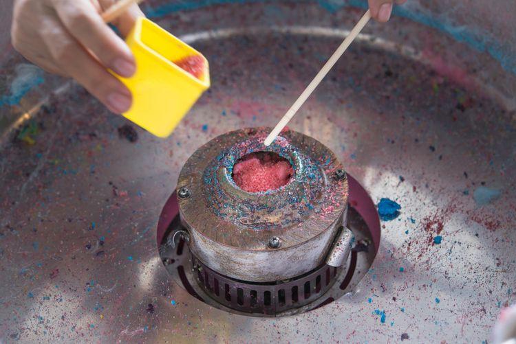 Správné použití výrobníku cukrové vaty