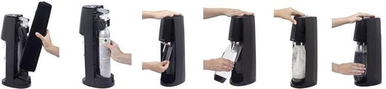 SodaStream výměna bombičky s CO2 plynem