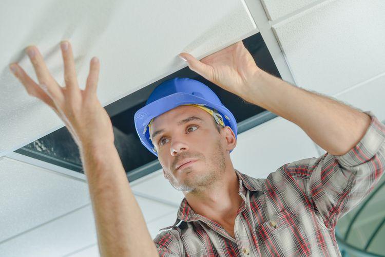 Vysokoteplotní stropní topné panely