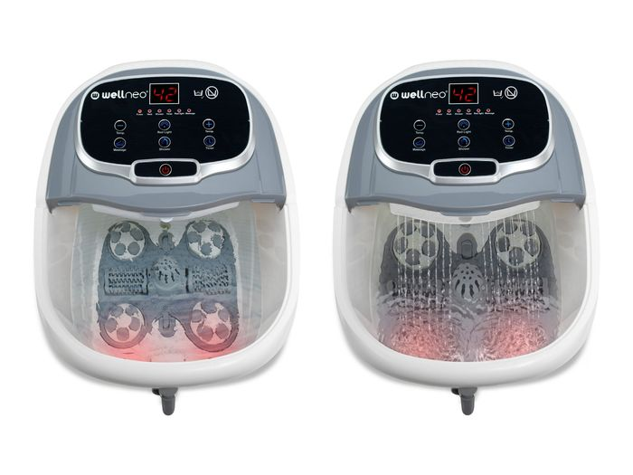 Masážní přístroj Wellness SPA na nohy 2v1