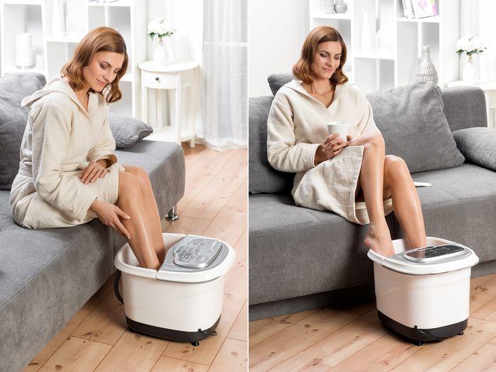 Wellness SPA na nohy 2v1 domácí wellness