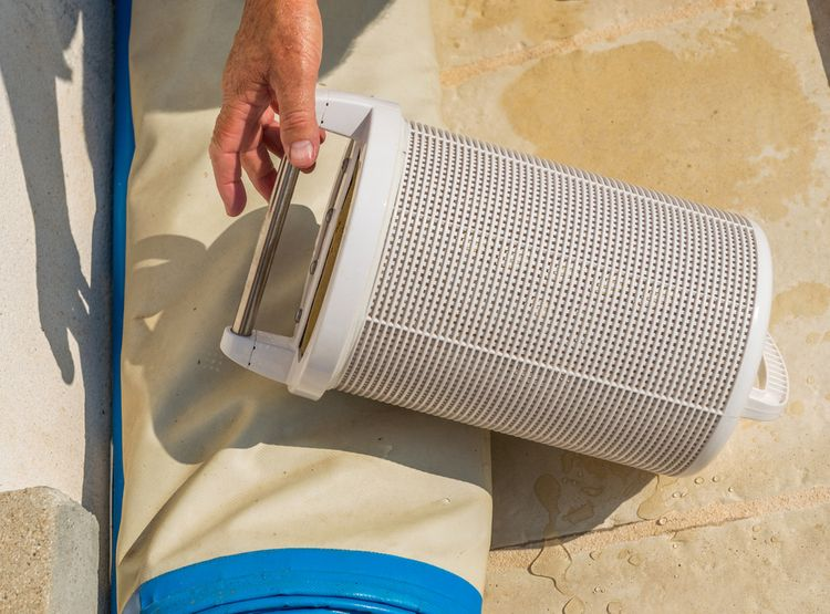 Kartušová bazénová filtrace