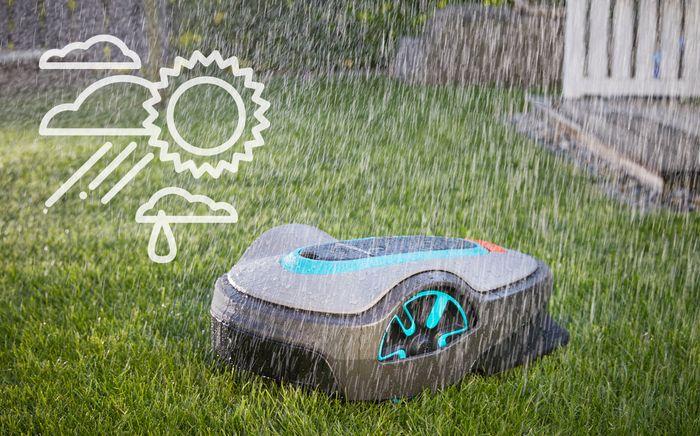 Robotická sekačka Gardena Sileno+ 2000 Smart s dešťovým senzorem