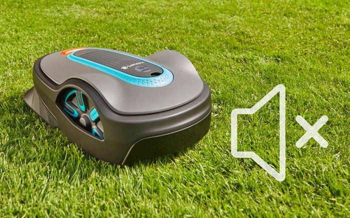 Robotická sekačka Gardena Sileno+ 2000 Smart není hlučná