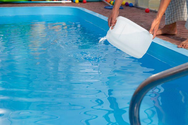 Bazénový vločkovač