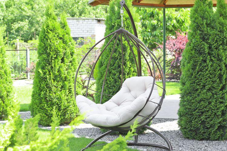 Jak vybrat zahradní závěsné křeslo?