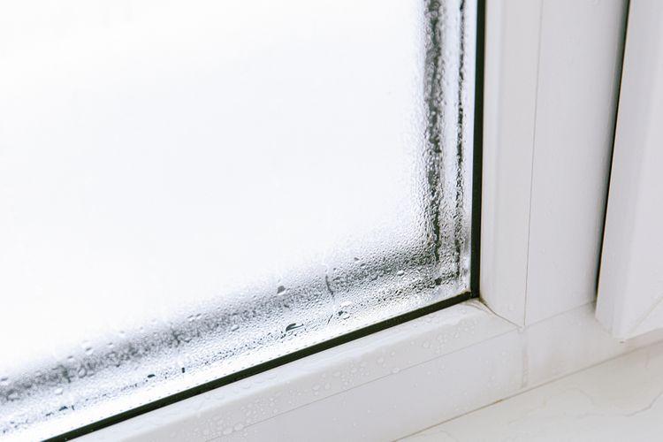 Orosené okna– vlhkost v bytě