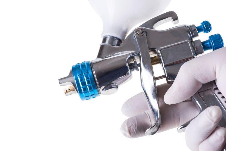 Bezvzduchová stříkací pistole