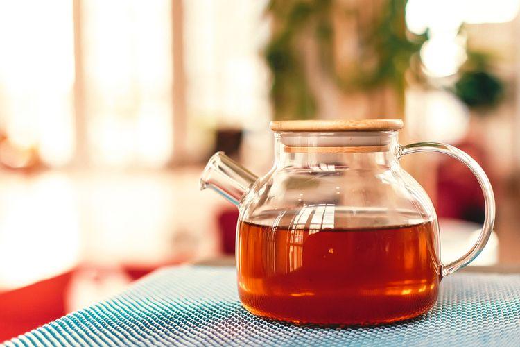 Skleněný čajník