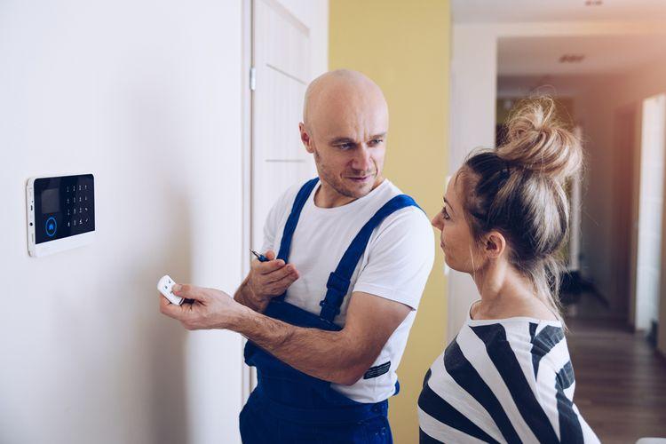 Instalace domovního alarmu a vysvětlení ovládání