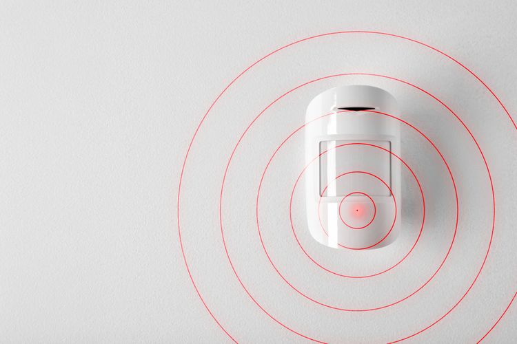 Domovní alarm se snímačem pohybu