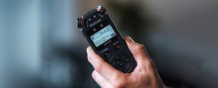 Poloprofesionálnídiktafon Tascam DR-05X