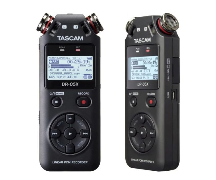 Diktafon Tascam DR-05X