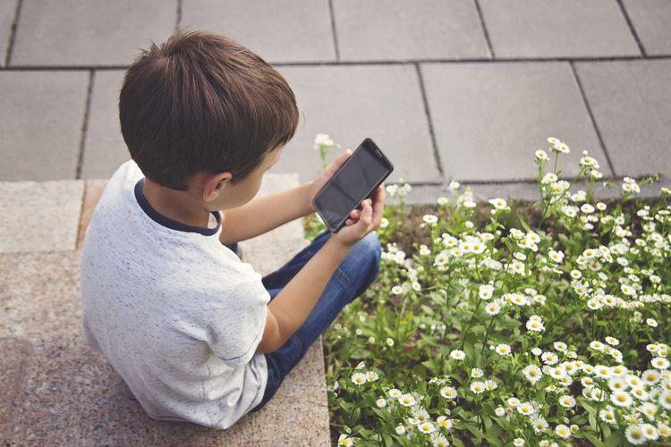 Displej dětského telefonu