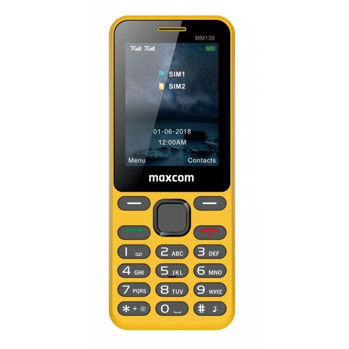 Tlačítkový telefon MaxCom MM139