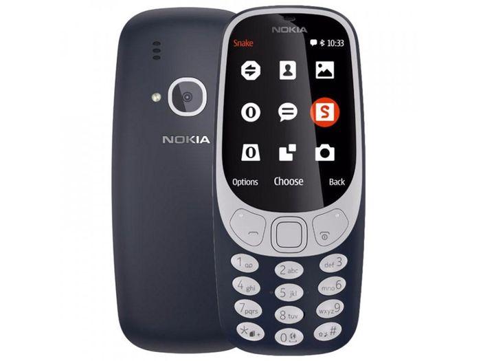 Tlačítkový telefon Nokia 3310 vhodný pro dítě