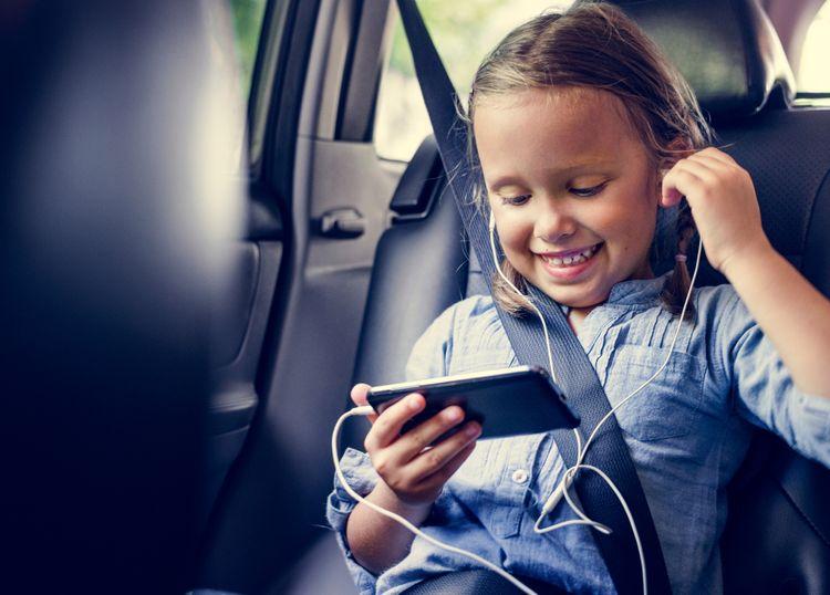 Paměť dětského telefonu